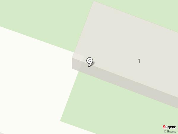 Локомотив на карте Вихоревки