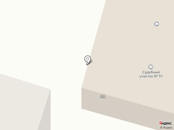 Вихоревская вечерняя (сменная) общеобразовательная школа на карте Вихоревки