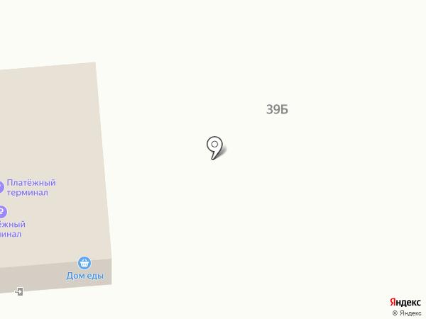 Родник на карте Вихоревки