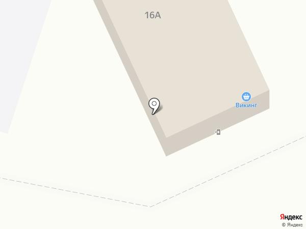 Викинг на карте Вихоревки