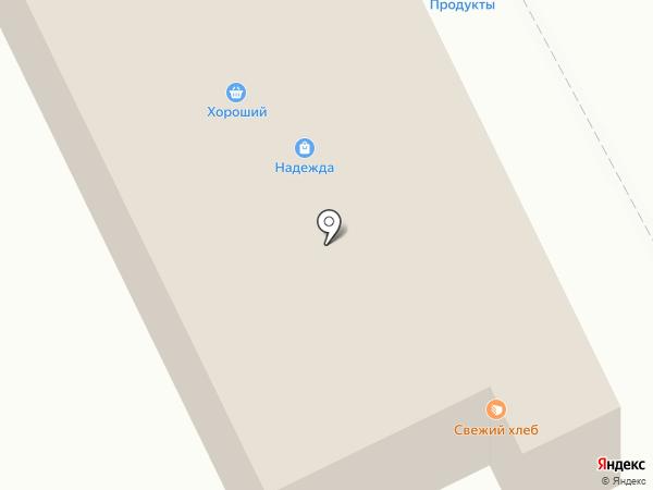 Магазин хозяйственных товаров на карте Вихоревки