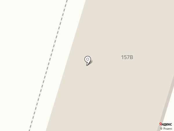 Мастер на карте Вихоревки