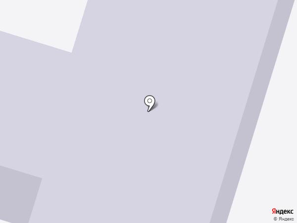 Вихоревская средняя общеобразовательная школа №1 на карте Вихоревки
