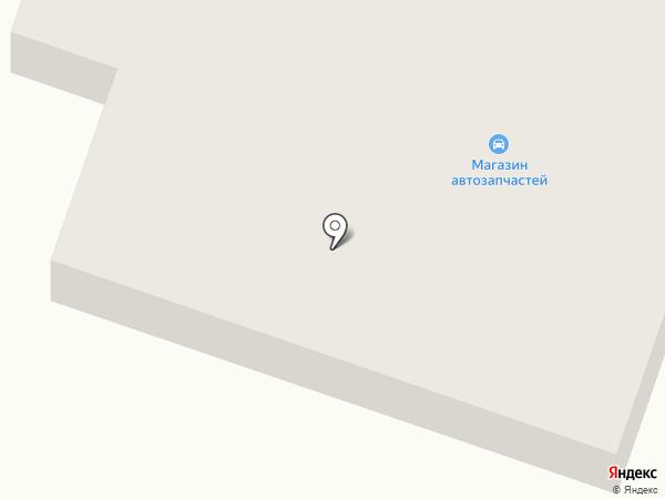 Бакор-2 на карте Вихоревки