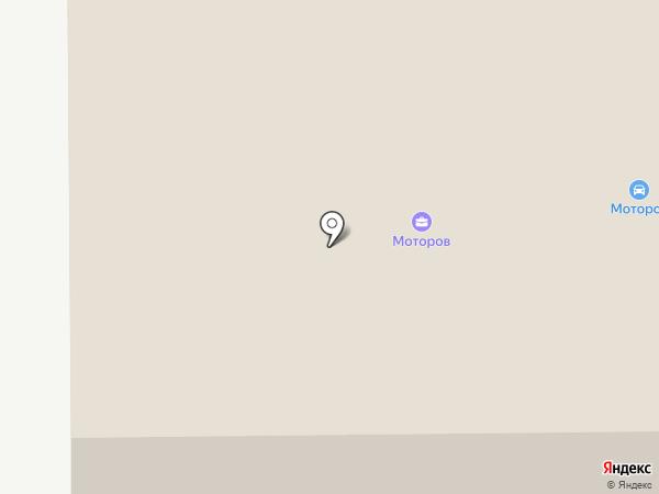 МОТОРОВ на карте Братска