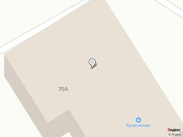 Автомагазин на карте Братска