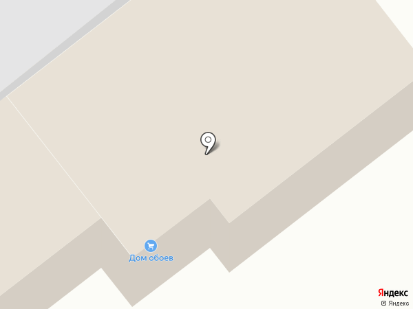 Дом обоев на карте Братска