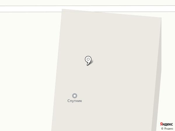 Спутник на карте Братска
