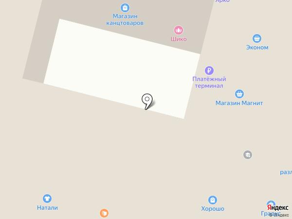 ПаБиК на карте Братска