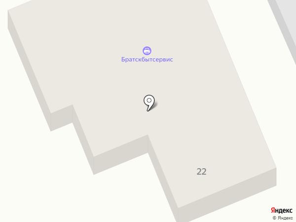 7 пятниц на карте Братска