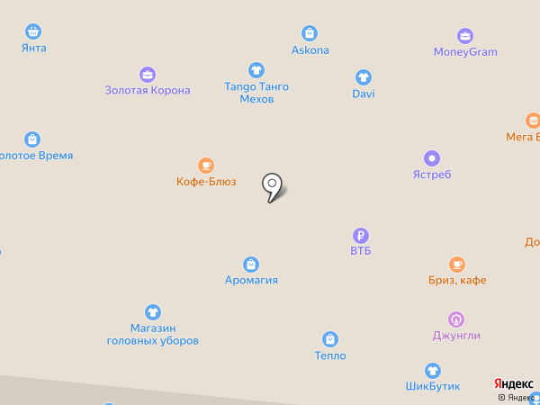 Сеть магазинов мясной продукции на карте Братска