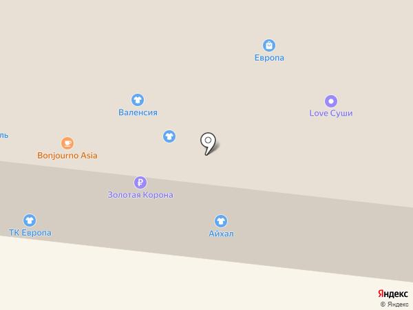 РосСтиль на карте Братска
