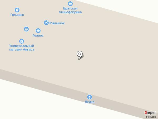 Тысяча часов на карте Братска
