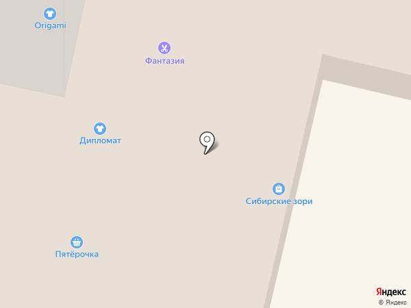 Шмелёнок на карте Братска