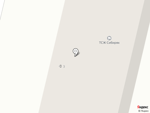 Сибиряк на карте Братска