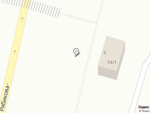 Ниппон на карте Братска