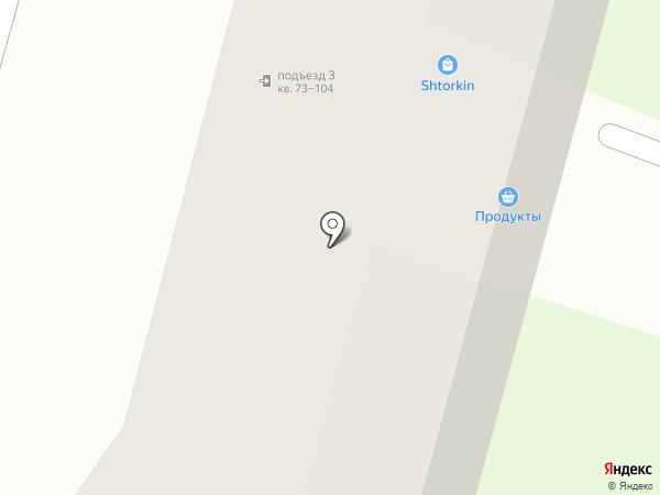 У арки на карте Братска