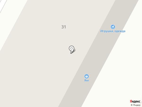 Ярмарка на карте Братска