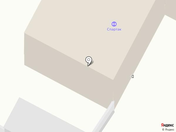 Спартак на карте Братска