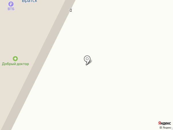 Линзочки на карте Братска