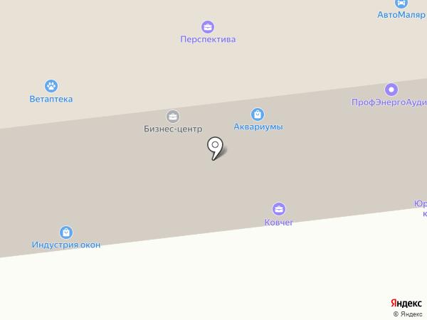 Торгово-монтажная фирма на карте Братска