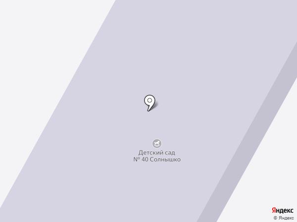 Детский сад №40, Солнышко на карте Братска