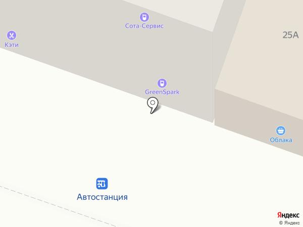 АСЦ Сота-сервис на карте Братска