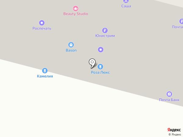 Ткани на карте Братска