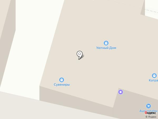 Катран на карте Братска