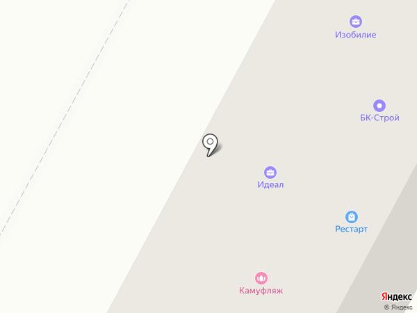Зебара на карте Братска