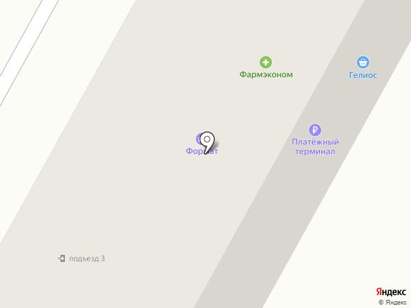 Александровский на карте Братска