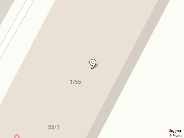 Братская детская городская больница на карте Братска