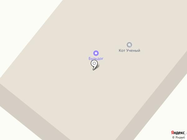 Пента на карте Братска