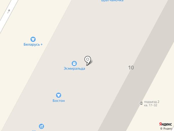 Солоха на карте Братска