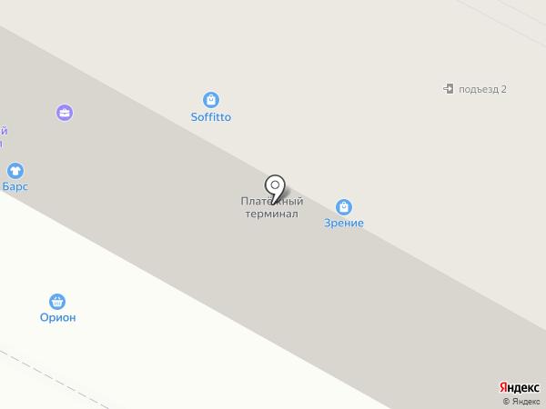 Зрение на карте Братска