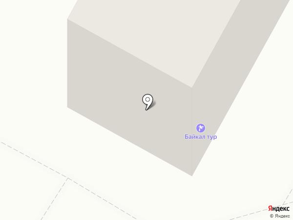 Милашка на карте Братска