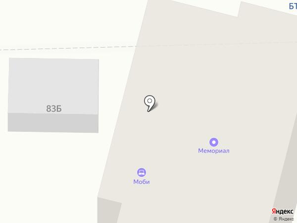 Модерн на карте Братска