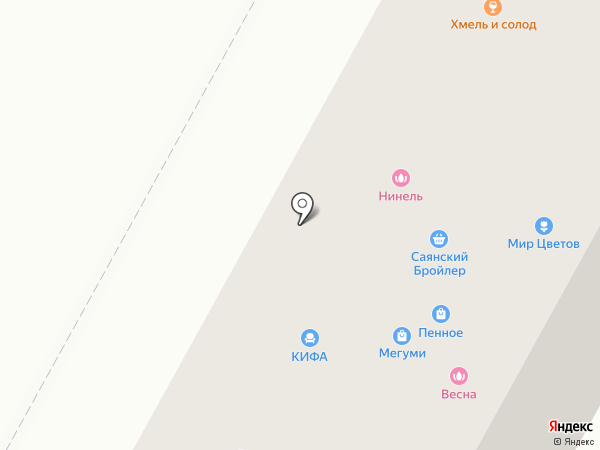 Дымшоп на карте Братска