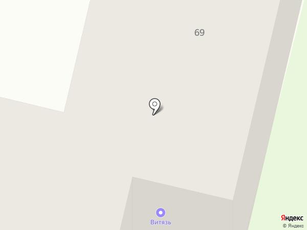 Парикмахерская на карте Братска
