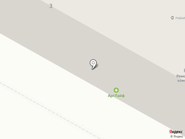 Гелиос на карте Братска