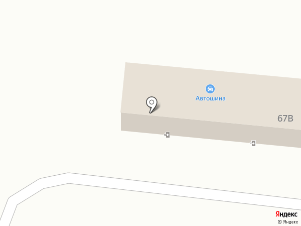 Байкалшина на карте Братска