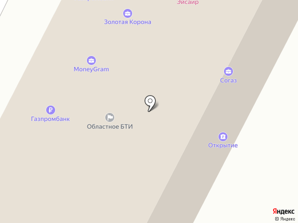 Северная казна на карте Братска