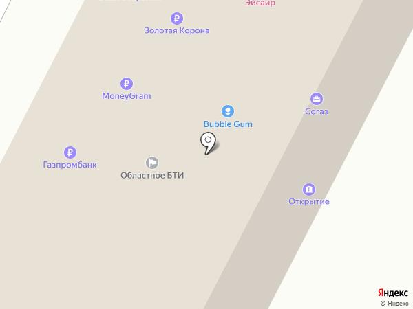 БКС на карте Братска