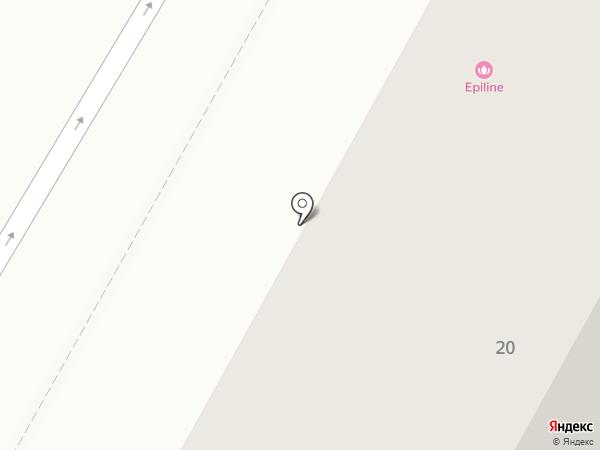 Навигатор на карте Братска