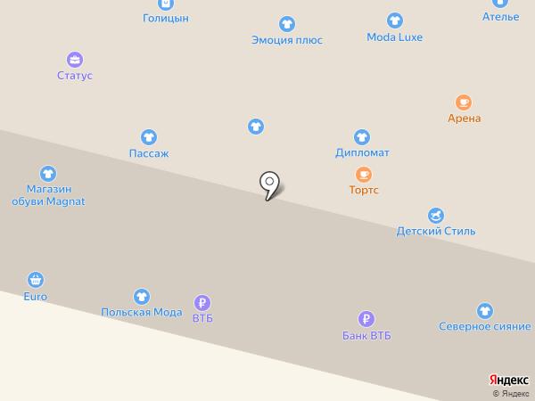 Magnat на карте Братска
