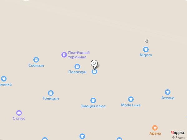 EuroMODA на карте Братска