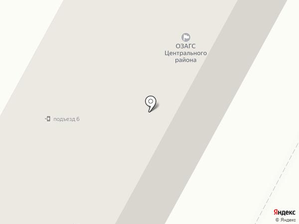 ЗАГС Центрального района на карте Братска