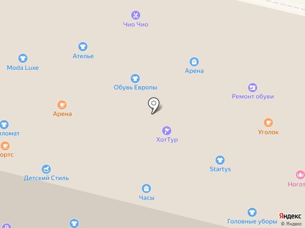 Juli на карте Братска