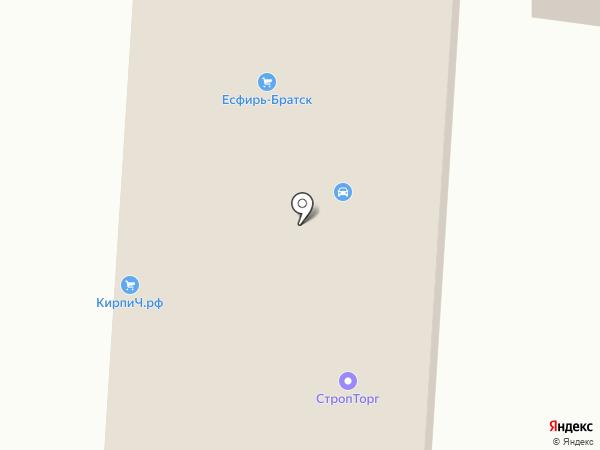 Спецтехника на карте Братска