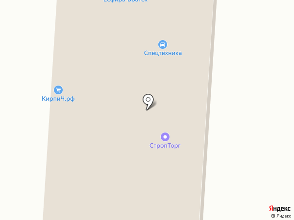Торговая фирма на карте Братска